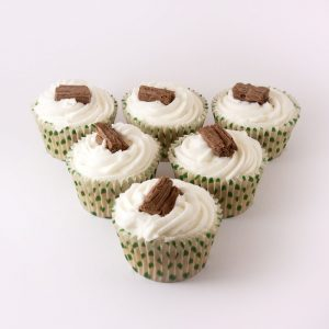 6pk Vanilla Cupcake - Case of 4